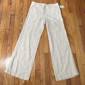 Anthropologie Pants - ANTHROPOLOGIE Pilcro and Letterpress Linen Pants