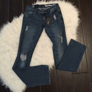 New Hurley '70 skinny boot jeans. Hurley jeans