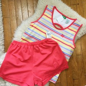 NWT Coral Tennis Set, Shorts and Top 🏸