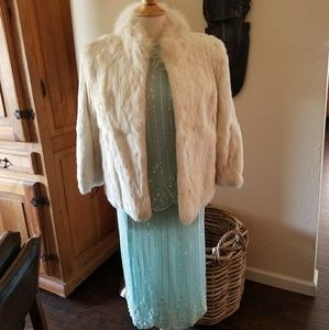 Beautiful Vintage Wilson's Rabbit Fur Jacket