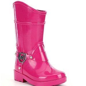 MICHAEL Michael Kors Other - Michael Kors girls logo rainboots NEW