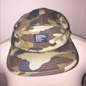 Stussy Other - Stussy Camo Five Panel Hat