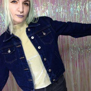 Vintage y2k Express Bleus Denim Jean Jacket