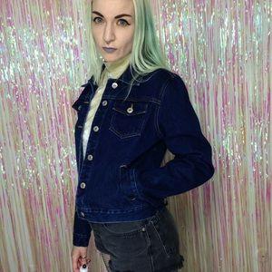 Vintage Jackets & Blazers - Vintage y2k Express Bleus Denim Jean Jacket