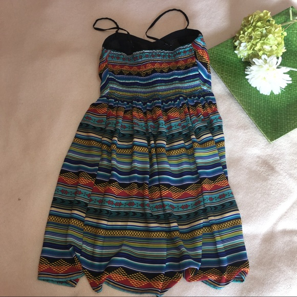 xhilaration aztec print bustier top summer dress from