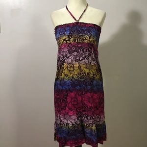 CLEARANCE 5$❗️Xhilaration Rayon Floral Beach Dress