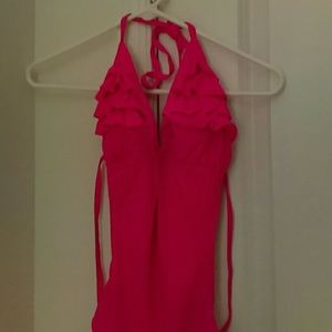 Ocean Pacific Other - Ocean Pacific Hot Pink One Piece Bathing Suit
