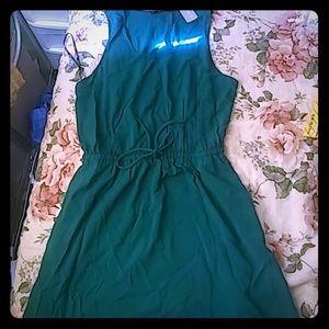1X NWT teal summer dress!