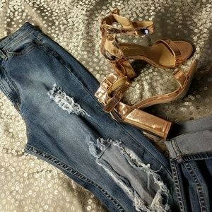 High waisted jeans Seek & Destroy size 7