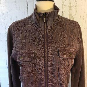 Denim & Co. Jackets & Blazers - 🎀Denim & Co. Leightweight Purple Jacket🎀