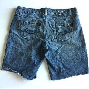 lei Pants - LEI Cutoff Jean shorts D3