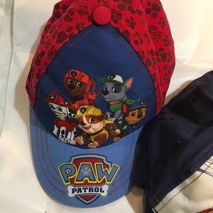 3e7d215c916f7 Accessories - 3 pc bundle boys caps hats paw patrol spiderman
