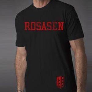 ROSASEN Shirts - NWT ROSASEN WHITE COTTON CREWNECK T SHIRT SIZE S