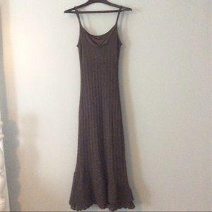 Sisley Dresses & Skirts - Sisley chocolate brown dress