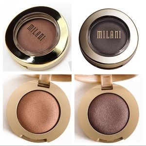 Milani Other - Bella Gel Powder Eyeshadow, Cappuccino & Taupe