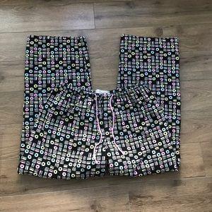 """Peter Alexander pajama pants 29"""" 100% Cotton donut"""