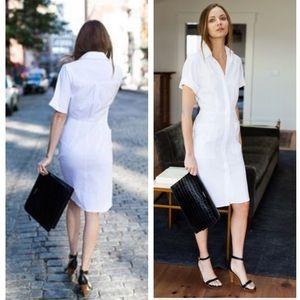 Emerson Fry Dresses & Skirts - New Emerson Fry White Shirt Hem Dress