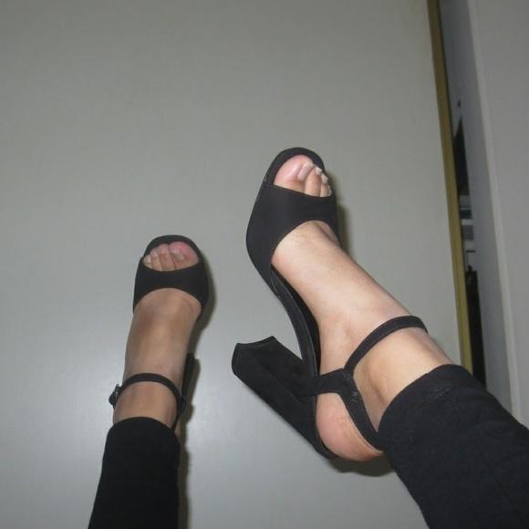 2fd481f85491 ASOS Shoes - Suede 90s Block Heels