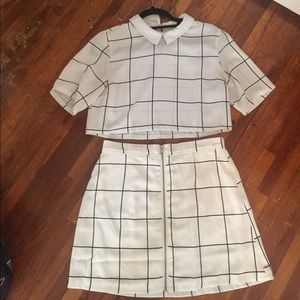 gypsy warrior Dresses & Skirts - Matching shirt and skirt set