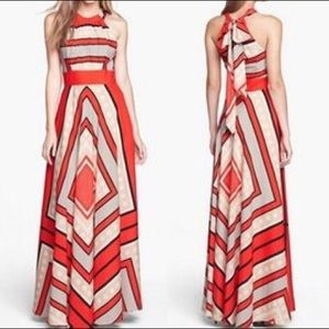 Dresses & Skirts - Orange stripe maxi