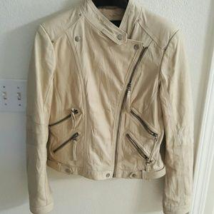 zara Jackets & Blazers - Zara 100% leather biker jacket