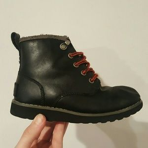 UGG Other - Ugg waterproof boys hiking boots shoes black