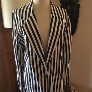 Vintage Stripe Blazer