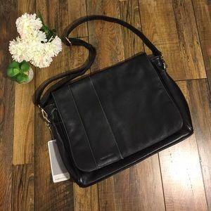Perry Ellis Other - Perry Ellis Leather Messenger Bag