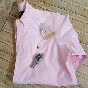 Ralph Lauren Other - Ralph Lauren Pink Button Down Shirt