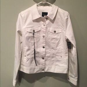 Liverpool Jeans Company Jackets & Blazers - Liverpool bright white denim jacket