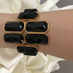 CC Skye Jewelry - CC Skye Icon Hand Cut Quartz Stone Cuff