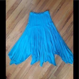 Dresses & Skirts - BOHO OASIS NATURAL FIBER ASYMMETRICAL LONG SKIRT