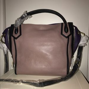 ORYANY Satchel in Blush-Taupe