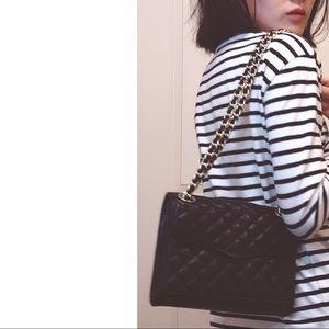 Rebecca Minkoff Handbags - Rebecca Minkoff mini quilted affair black