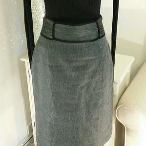 Classiques Entier  Dresses & Skirts - Classiques Entier skirt light blue and black.