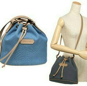 Longchamp Handbags - Longchamp Small Bucket Bag
