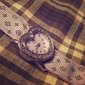 Rachel Weismann heart shaped watch