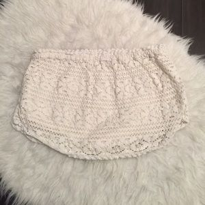 O'Neill Dresses & Skirts - O'Neil crochet lace bathing suit cover up skirt