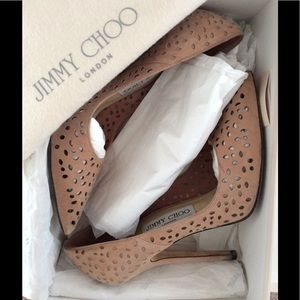 ✨HOST PICK✨👠Authentic Jimmy Choo Nude Pumps👠