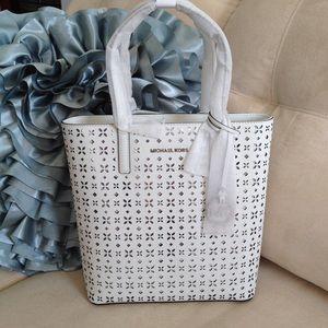 MICHAEL Michael Kors Handbags - Michael Kors Hayley Medium NS Leather Tote