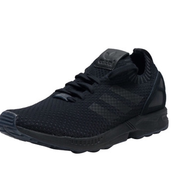 ed7382c533d57 Adidas Mens ZX FLUX PK Sneakers In Black S75976