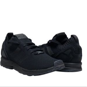 lowest price 875e2 fbd1f Adidas Mens ZX FLUX PK Sneakers In Black S75976 NWT