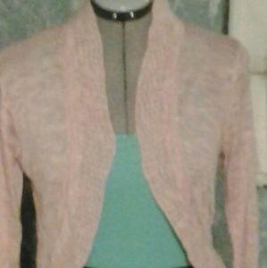 Dusty pink cardigan