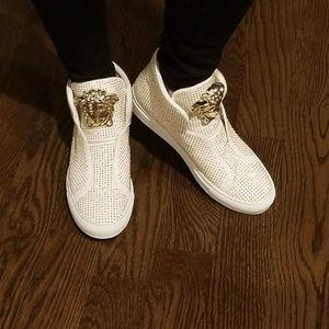 Versace   swarowski sneakers