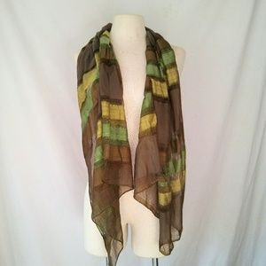2for1 EARTHY Sheer Scarf