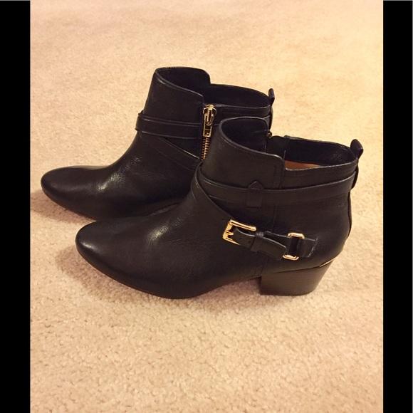 d467f440b59 Coach Pauline Women US 9.5 Black Ankle Boot