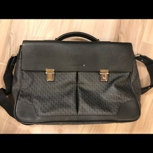 Montblanc Other - Montblanc double gusset laptop bag