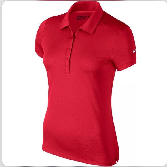 55 Off Nike Tops Nike Women Dri Fit Victory Golf Shirt