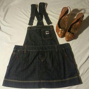 Killah Babe by Miss Sixty overall dress rare sz L