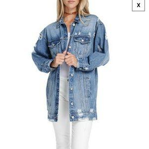 Apricot Lane - Fiore - Oversized jean jacket
